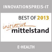 Initiative Mittelstand - BestOf - Innovationspreis E-Health - 2013 - ValueProfilePlus