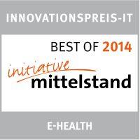 Initiative Mittelstand - BestOf - Innovationspreis E-Health - 2014 - ValueProfilePlus