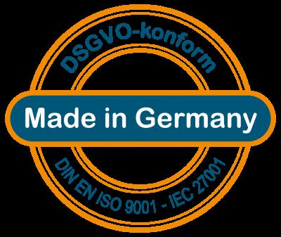 Made in Germany — ValueProfilePlus — Online Assessment — Absicherung für Sie